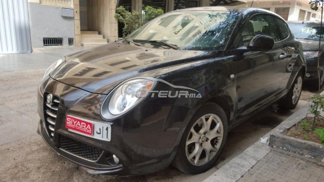 alfa romeo mito 2009 diesel 180611 occasion casablanca maroc. Black Bedroom Furniture Sets. Home Design Ideas