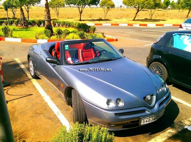alfa romeo spider 2002 essence 112080 occasion casablanca maroc. Black Bedroom Furniture Sets. Home Design Ideas