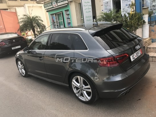 audi a3 s line 2014 diesel 171856 occasion rabat maroc. Black Bedroom Furniture Sets. Home Design Ideas