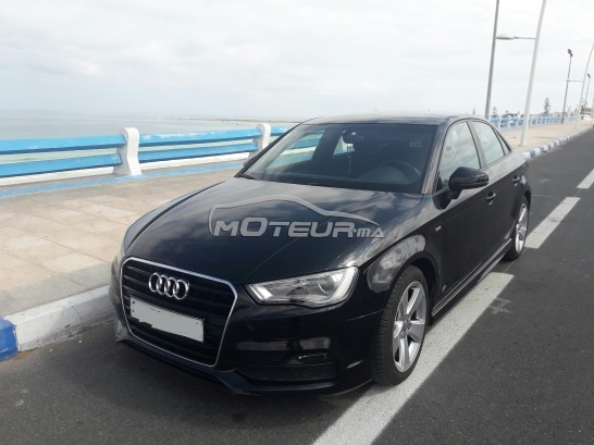 audi a3 berline s line 2015 diesel 158670 occasion casablanca maroc. Black Bedroom Furniture Sets. Home Design Ideas