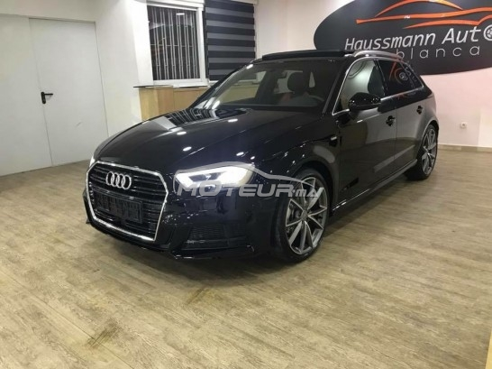 audi a3 tdi s line 2017 diesel 180106 occasion casablanca maroc. Black Bedroom Furniture Sets. Home Design Ideas