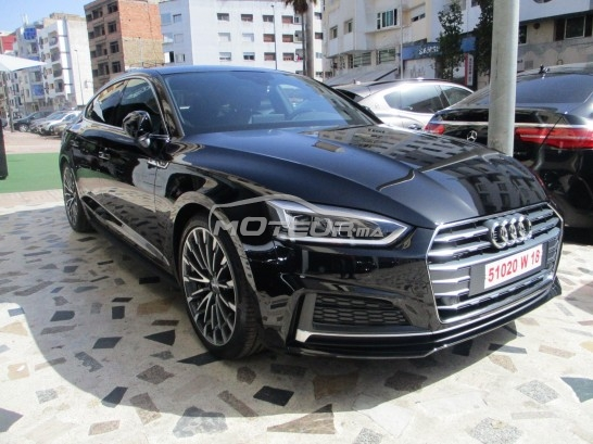 audi a5 2017 diesel 167951 occasion casablanca maroc. Black Bedroom Furniture Sets. Home Design Ideas