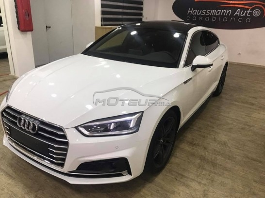 audi a5 2 0 tdi s line 2017 diesel 180110 occasion casablanca maroc. Black Bedroom Furniture Sets. Home Design Ideas