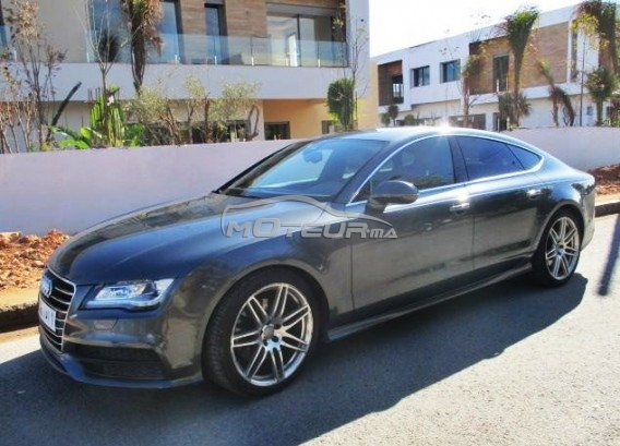 audi a7 s line quattro 2011 diesel 197768 occasion casablanca maroc. Black Bedroom Furniture Sets. Home Design Ideas