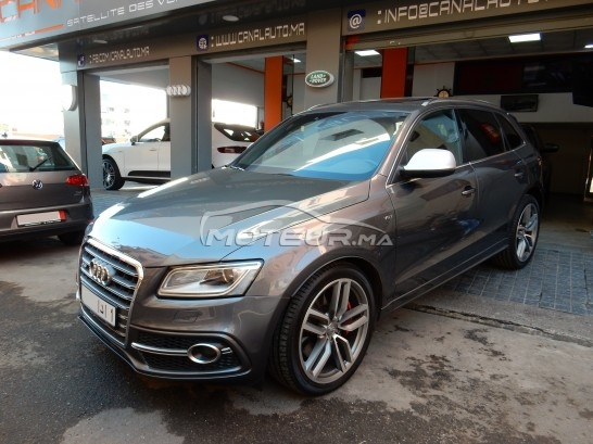AUDI Sq5 Pack turbo مستعملة