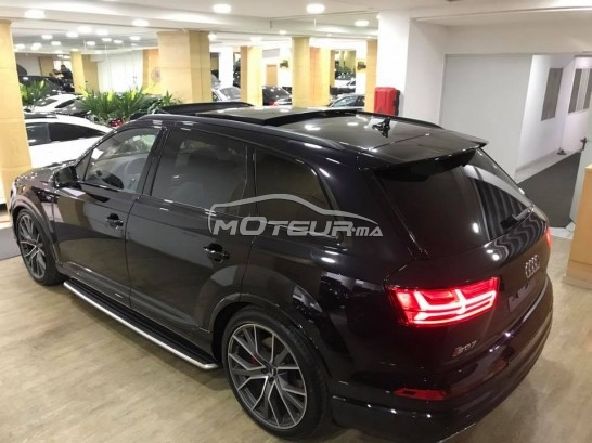 audi sq7 s line 2017 diesel 189096 occasion casablanca maroc. Black Bedroom Furniture Sets. Home Design Ideas
