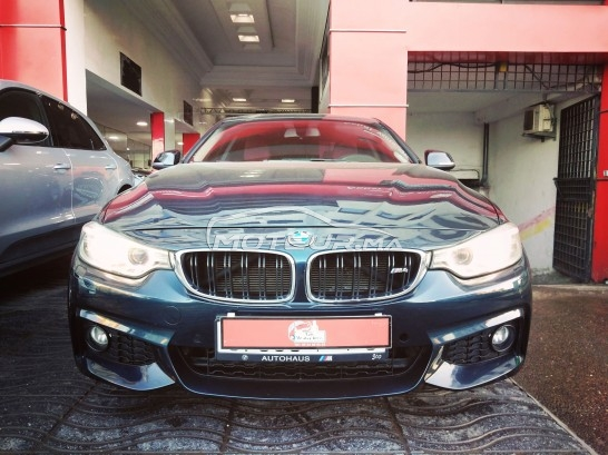 BMW Serie 4 20d coupé pack m occasion