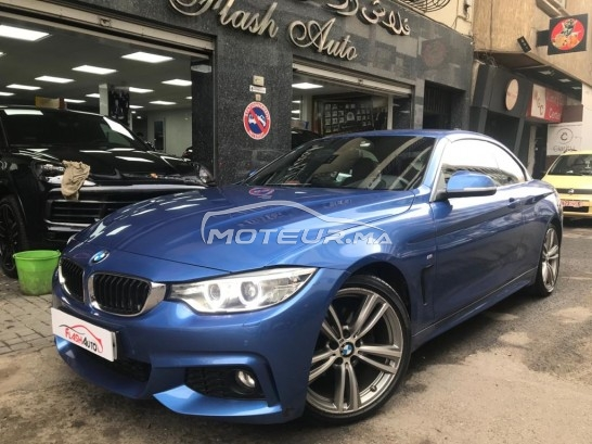 BMW Serie 4 420d pack m occasion