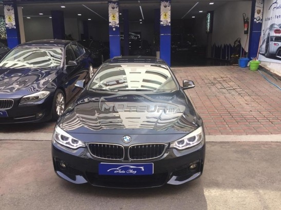 BMW Serie 4 420d pack exclusive occasion