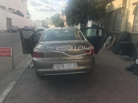 Voiture au Maroc CITROEN C-elysee - 234009
