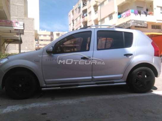dacia sandero stepway 2013 essence 155725 occasion fes maroc. Black Bedroom Furniture Sets. Home Design Ideas