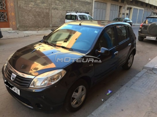 dacia sandero 1 5 dci 2009 diesel 176828 occasion casablanca maroc. Black Bedroom Furniture Sets. Home Design Ideas