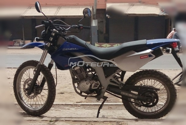 Moto au Maroc DERBI Senda 125 4t - 163687