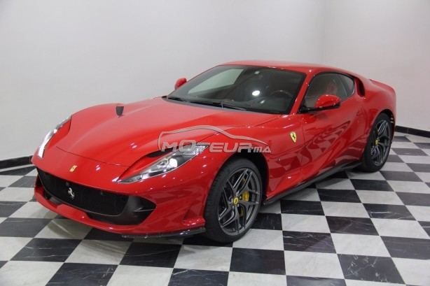 ferrari 812 superfast 2019 essence 205937 occasion casablanca maroc. Black Bedroom Furniture Sets. Home Design Ideas