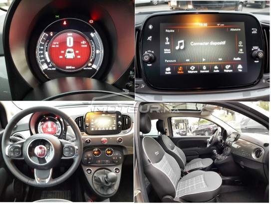 FIAT 500 1.2 i lounge+ toutes options occasion 687823