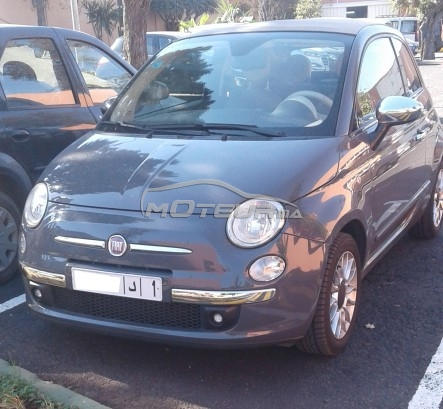 fiat 500 cabriolet 2012 essence 134496 occasion casablanca maroc. Black Bedroom Furniture Sets. Home Design Ideas