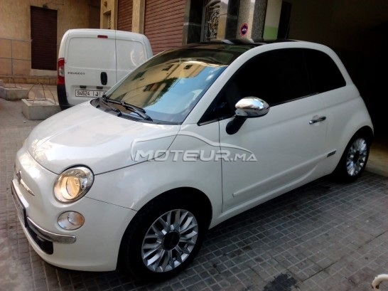 FIAT 500 1.2 i lounge toutes options مستعملة