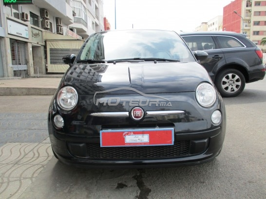 fiat 500 occasion automatique casablanca maroc annonces voitures. Black Bedroom Furniture Sets. Home Design Ideas