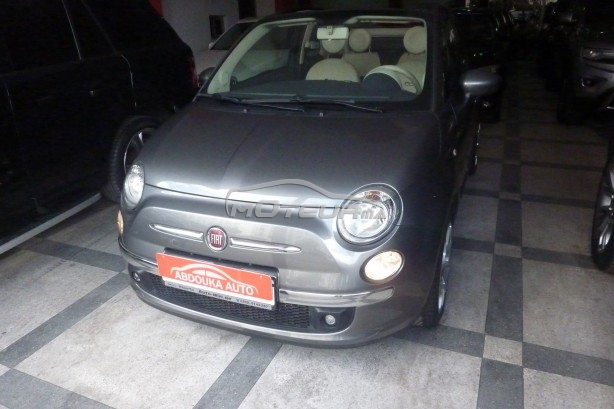 photo fiat 500c cabriolet 2013 168732 346703 casablanca. Black Bedroom Furniture Sets. Home Design Ideas