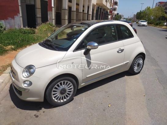 سيارة مستعملة للبيع Fiat 500 2014 البنزين 317600 الرباط المغرب