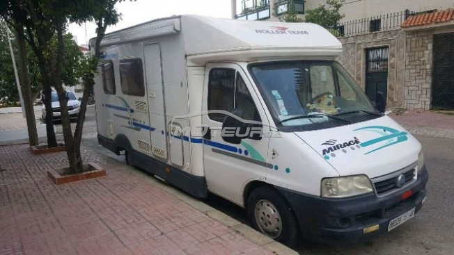 fiat ducato camping car 2003 diesel 163885 occasion casablanca maroc. Black Bedroom Furniture Sets. Home Design Ideas
