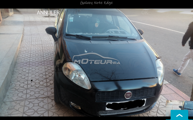 fiat grande punto 2009 diesel 155400 occasion beni mellal maroc. Black Bedroom Furniture Sets. Home Design Ideas