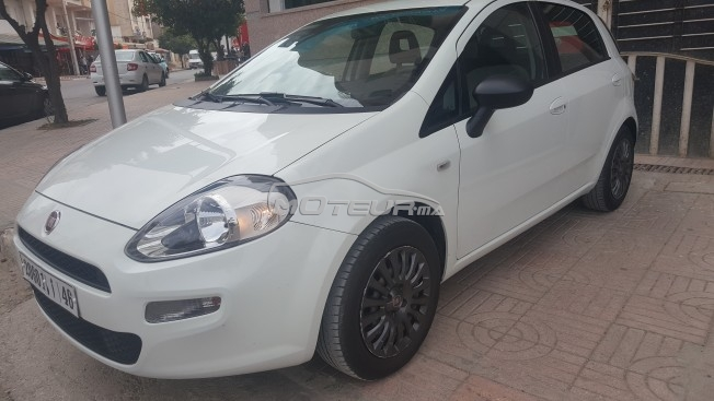 fiat grande punto 2014 diesel 154368 occasion taza maroc. Black Bedroom Furniture Sets. Home Design Ideas