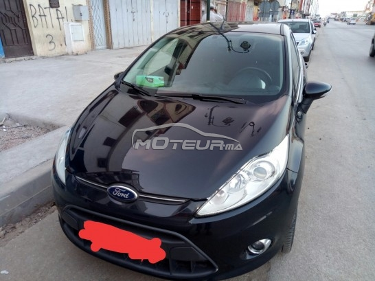 ford fiesta titanium 2013 essence 161307 occasion rabat maroc. Black Bedroom Furniture Sets. Home Design Ideas