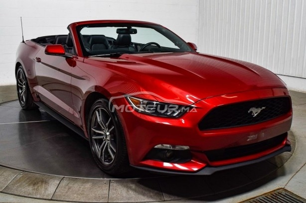 FORD Mustang 2.3l ecoboost convertible premium 317 ch مستعملة
