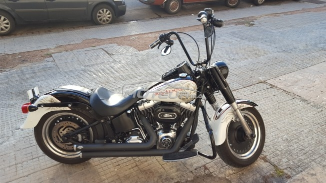 Moto au Maroc HARLEY-DAVIDSON Fat boy injection Softail fatboy lo - 144595
