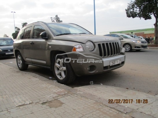 jeep compass 2008 diesel 147807 occasion casablanca maroc. Black Bedroom Furniture Sets. Home Design Ideas
