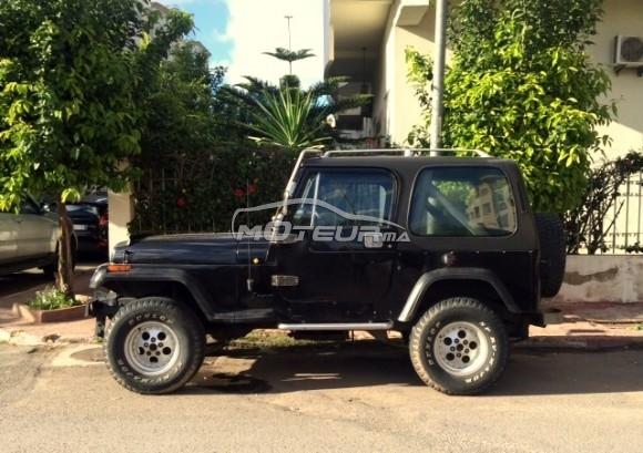 jeep wrangler 1986 diesel 156781 occasion casablanca maroc. Black Bedroom Furniture Sets. Home Design Ideas