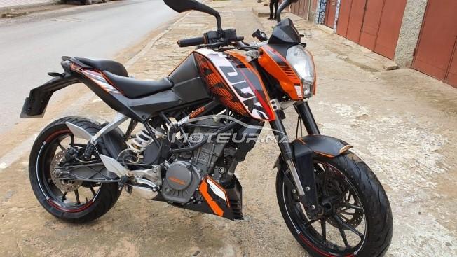 Moto au Maroc KTM 125 duke - 306359