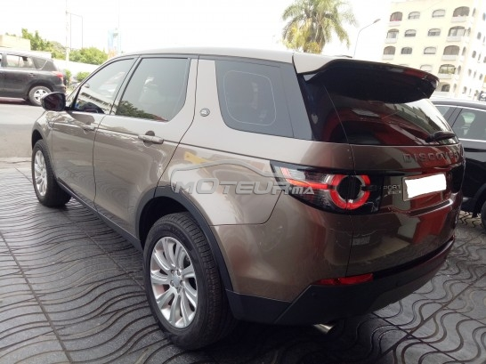 photo land rover discovery sport se td4 2016 155658 298757 casablanca. Black Bedroom Furniture Sets. Home Design Ideas