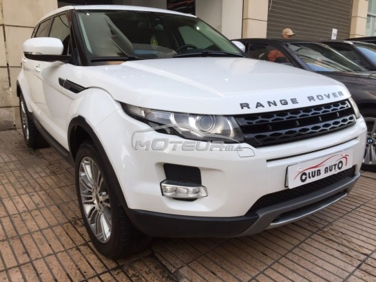Voiture au Maroc LAND-ROVER Range rover evoque - 147761