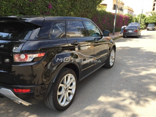 land rover range rover evoque si4 dynamic plus 240 ch 2012 essence 160386 occasion casablanca. Black Bedroom Furniture Sets. Home Design Ideas