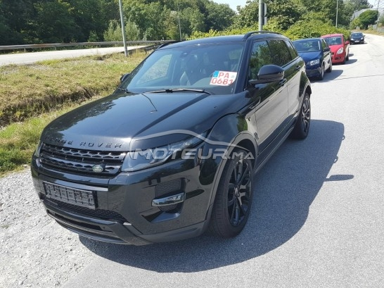 LAND-ROVER Range rover evoque Dynamique plus black edition مستعملة