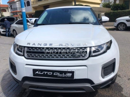 Voiture au Maroc LAND-ROVER Range rover evoque Pack prestige - 266689