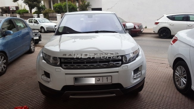 land rover range rover evoque 2013 diesel 170309 occasion rabat maroc. Black Bedroom Furniture Sets. Home Design Ideas