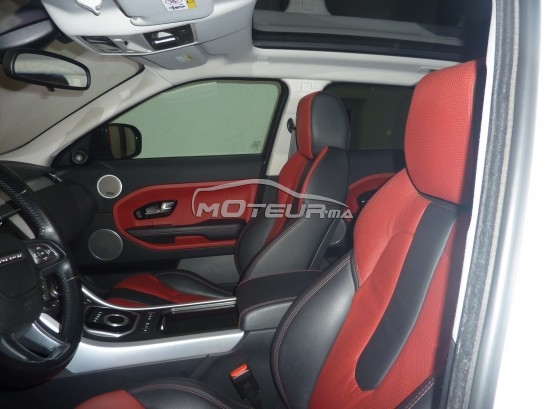 photo land rover range rover evoque sd4 dynamique 190 ch 2012 166465 337076 casablanca. Black Bedroom Furniture Sets. Home Design Ideas