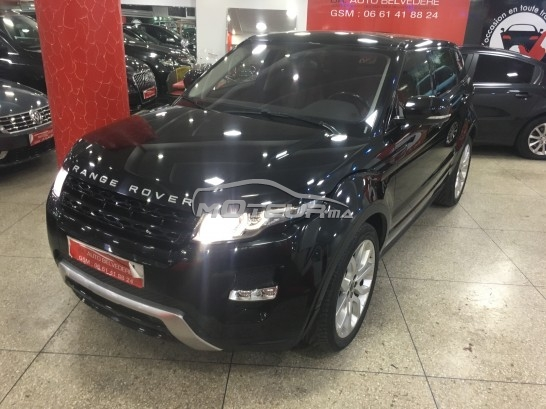 photo land rover range rover evoque dynamique plus 2012 192130 430909 casablanca. Black Bedroom Furniture Sets. Home Design Ideas