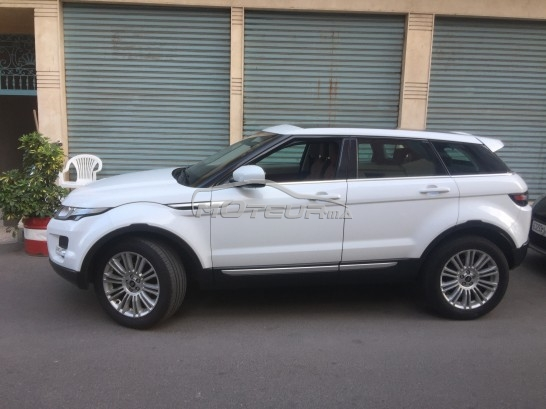 land rover range rover evoque 2013 diesel 163081 occasion casablanca maroc. Black Bedroom Furniture Sets. Home Design Ideas