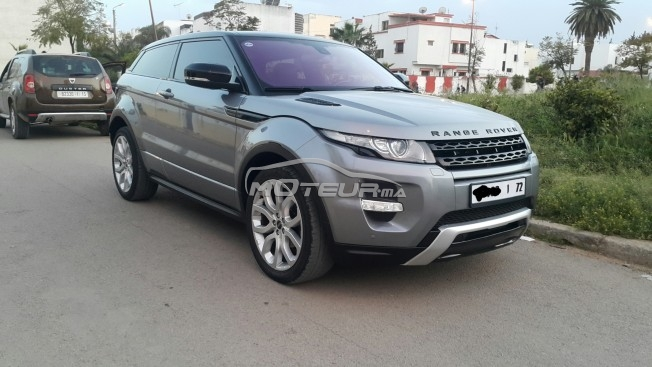 land rover range rover evoque occasion diesel maroc annonces voitures. Black Bedroom Furniture Sets. Home Design Ideas