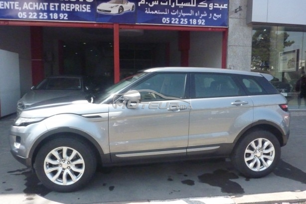 photo land rover range rover evoque 4x4 2014 170025 350415 casablanca. Black Bedroom Furniture Sets. Home Design Ideas