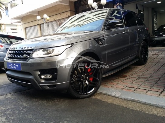 LAND-ROVER Range rover sport Black edition pack autobiography مستعملة