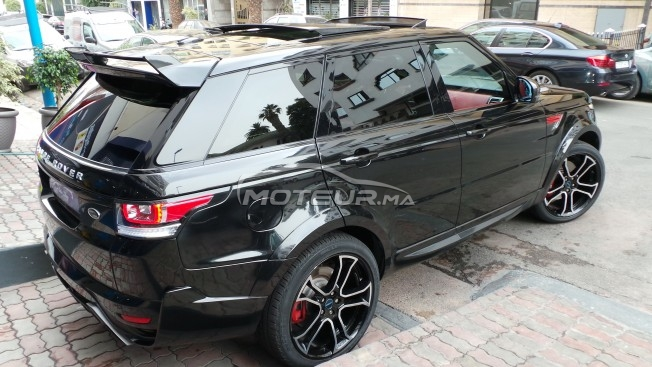LAND-ROVER Range rover sport Supercharged v8 occasion 560439