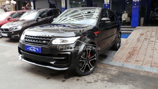 LAND-ROVER Range rover sport Supercharged v8 occasion