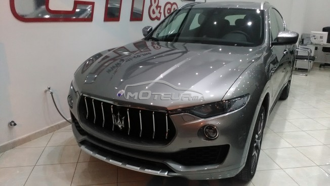 maserati levante 2017 diesel 147069 occasion tetouan maroc. Black Bedroom Furniture Sets. Home Design Ideas