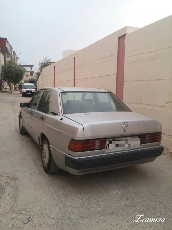 mercedes 190 1992 diesel 112234 occasion taza maroc. Black Bedroom Furniture Sets. Home Design Ideas