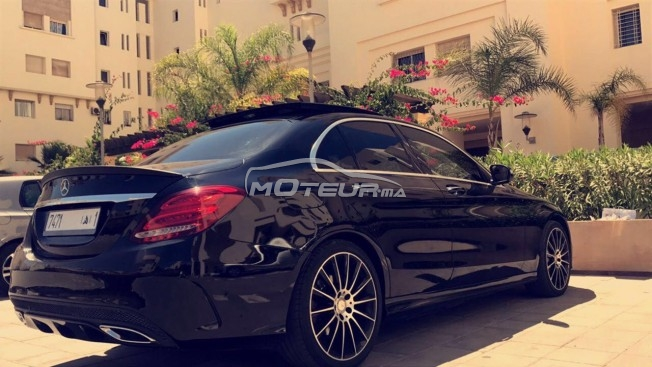 mercedes classe c 220 cdi pack amg 2014 diesel 171342 occasion casablanca maroc. Black Bedroom Furniture Sets. Home Design Ideas